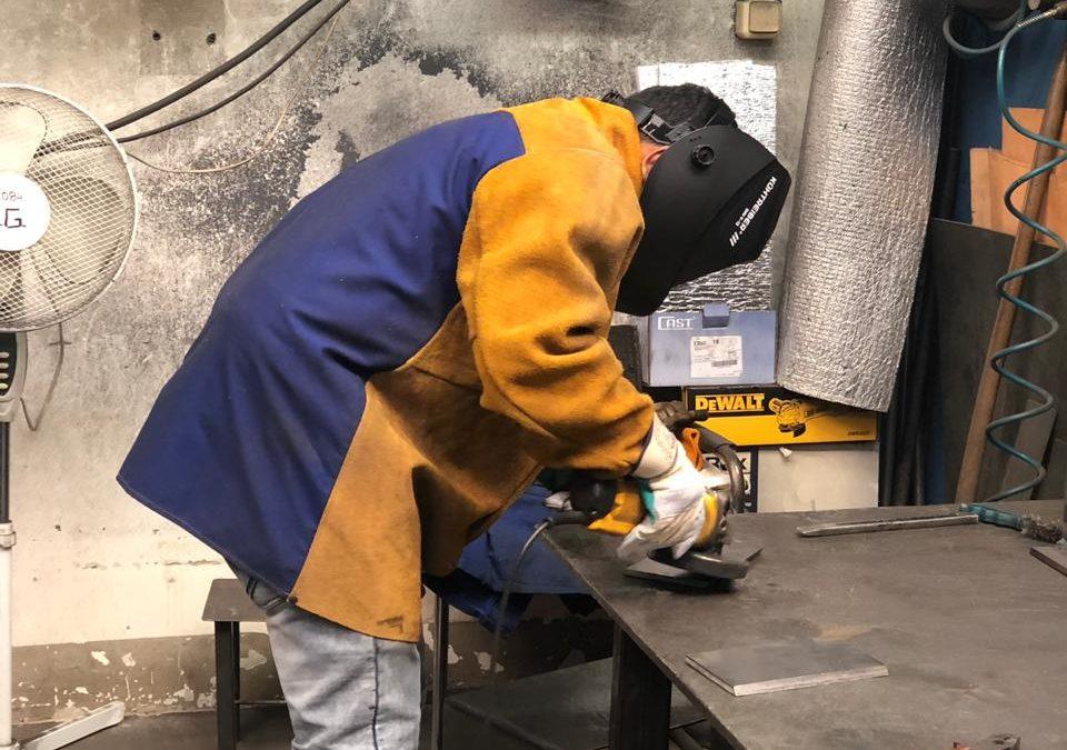 Provádění pracovních zkoušek svářečů pro české izahraniční pracovníky